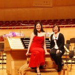 With Margaret Chen after Wuhan concert