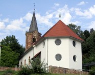 Evangelical Church of Saarbruecken, Germany